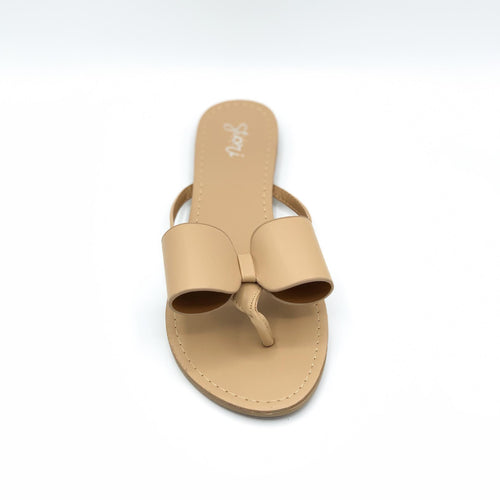 Nude color Val sandal