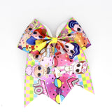 PRINTED CHEER BOW