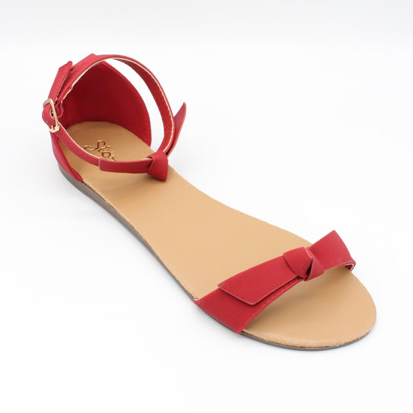 Red colored Koko Sandal