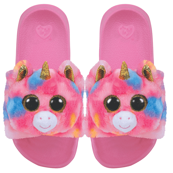 TY FURRY SLIDES