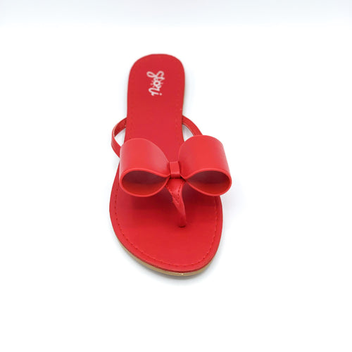 Red color Val sandal