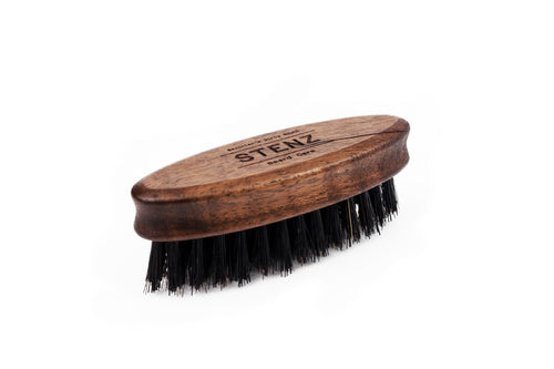 Beard Brush oval klein
