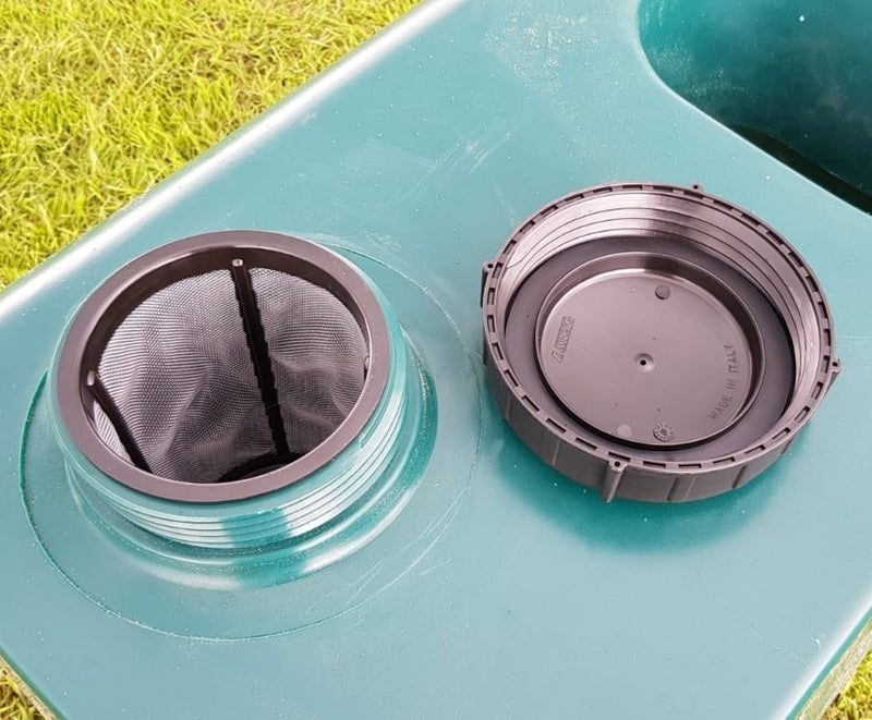 Improved Filter and Tank Lid - Improved Biosecurity