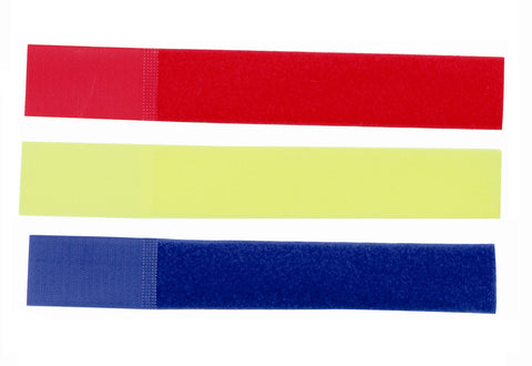 Leg Bands Velcro - Red (10Pk), Dairy Accessories, Quill Productions