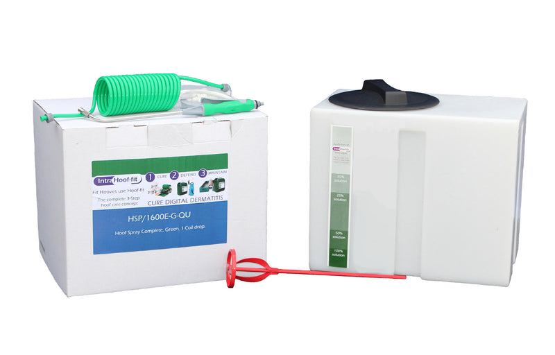 Hoof Spray System with *DRAG LINE* Kit
