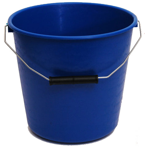 Calf Bucket Tough Blue 5L