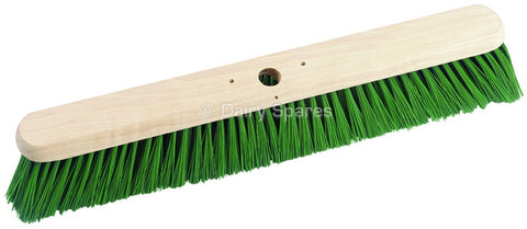 "Broom Polypropylene Heavy Duty Green Bristle 24"", Dairy Accessories, Quill Productions"