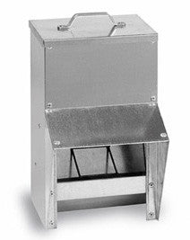Outdoor Galvanised Metal Feeder 10L, Feeder, Quill Productions