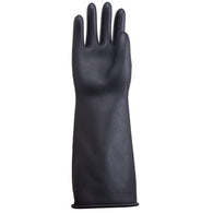 "Gauntlets black heavy weight 17"" length size, PPE, Quill Productions"