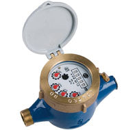 "Multi-Jet Water Meter 1/2"" BSP with a K=1 pulse"