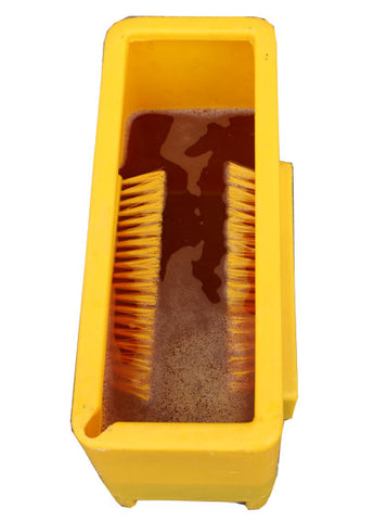 Quill Boot Dip Foot Dip With Brushes Bio Security