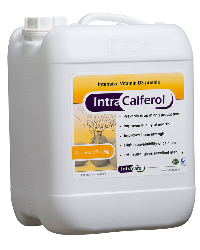 intra calferol, calferol, liquid calcium supplement for poultry, quill calferol