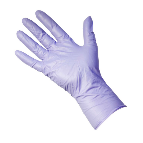 2 BOXES PER PERSON - PRO UltraSAFE Violet Long Cuff Nitrile Gloves - Box of 50