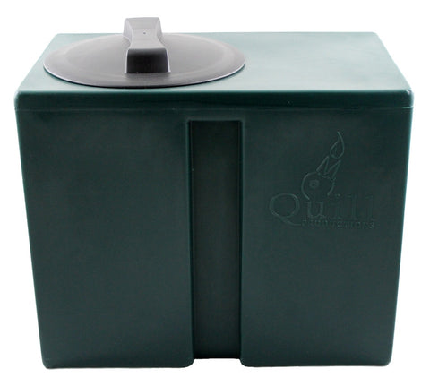 "Quill Header Tank - 40L - GREEN - WITH 1/2"" OUTLET, Water Tanks, Quill Productions"
