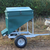Quill Galvanised Trailer for Trail Feeder, , Quill Productions
