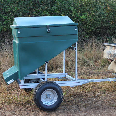 Quill Galvanised Trailer for Trail Feeder