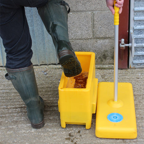 Quill Boot Dip (Yellow), Biosecurity, Quill Productions