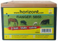 RANGER SB55 Battery (9V/55Ah), Electric Fencing, Quill Productions