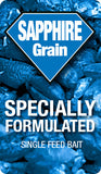 sapphire grain blue bait, a single kill feed for rats and mice