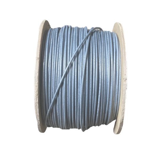 This UK manufactured galvanised high tensile straining wire is ideal for joining jumbo game net and galvanised wire fencing and adds strength.