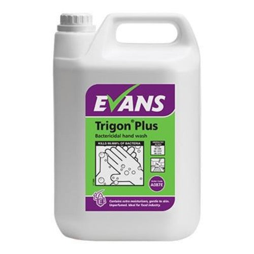 Trigon Plus Handwash 5 litre, Cleaners, Quill Productions