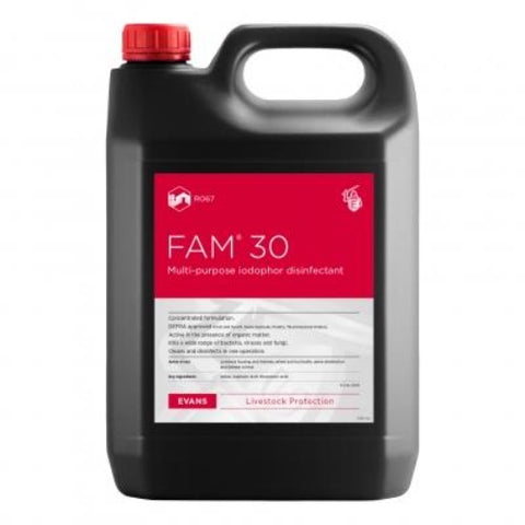 Fam 30  5L | DEFRA Approved Disinfectant