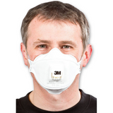 The 3M 9322 Dust Mask is both foldable and has a 3M Cool Flow™ valve making it suitable for use in hot and humid working conditions. The 3 panel design of the 9322 Dust Mask offers increased comfort as does the soft inner cover web. Provides protection against fine dust, water and oil based mists.  Conforms to EN149:2001 3M Cool Flow™ valve 3 panel design increased comfort Soft inner cover web Foldable Suitable for use in hot and humid working conditions