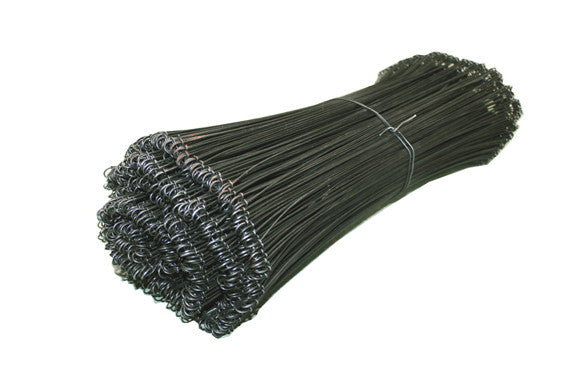 "18"" 16 gauge Metal Twist Ties (pack of 1000), Netting, Quill Productions"