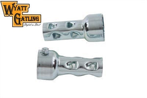 "Wyatt Gatling Steel 2"" Pipe Baffle Set"