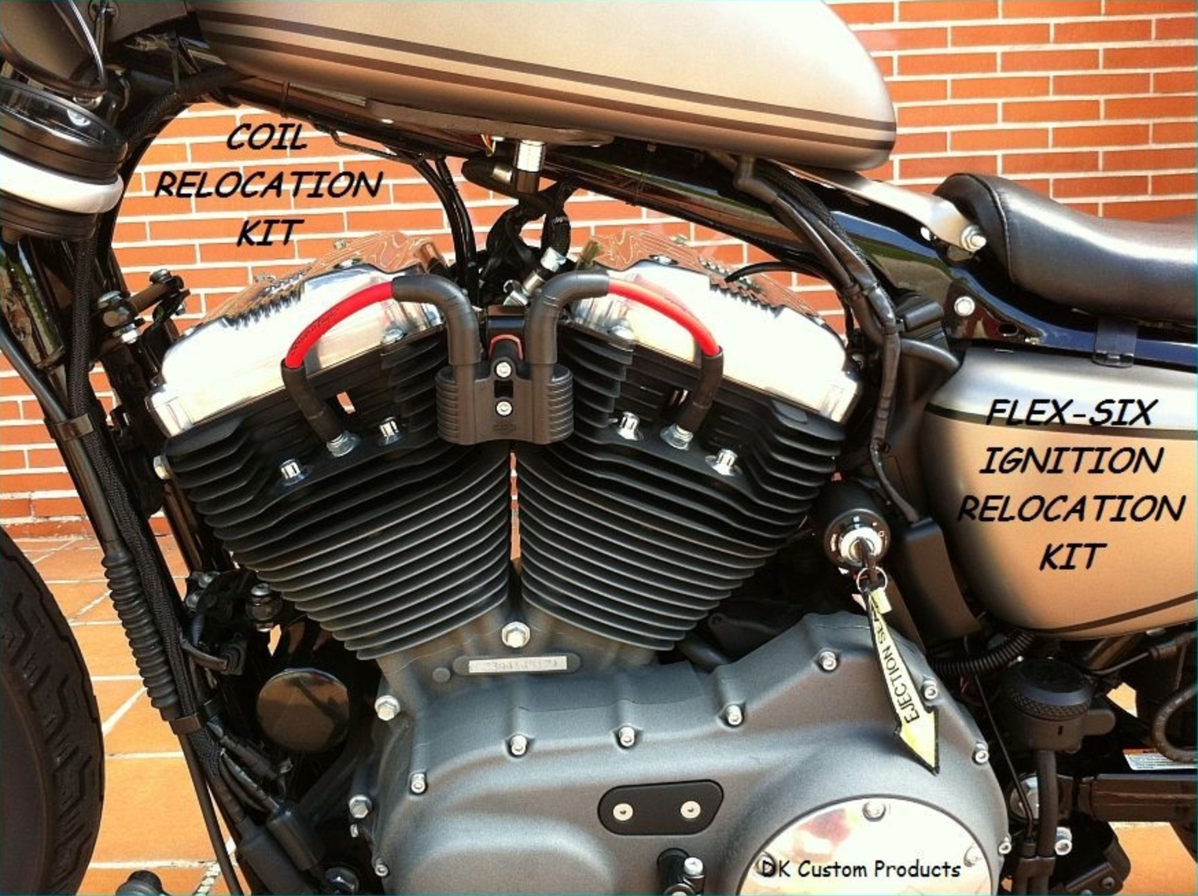 Ignition Relocation Sportster Nightster 48 Iron – H&C Custom