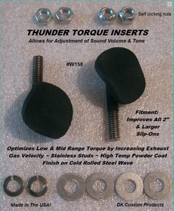 Thunder Torque Inserts 158 For Increased HP & Torque