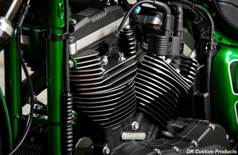 07-Up XL Sportster Coil Relocation