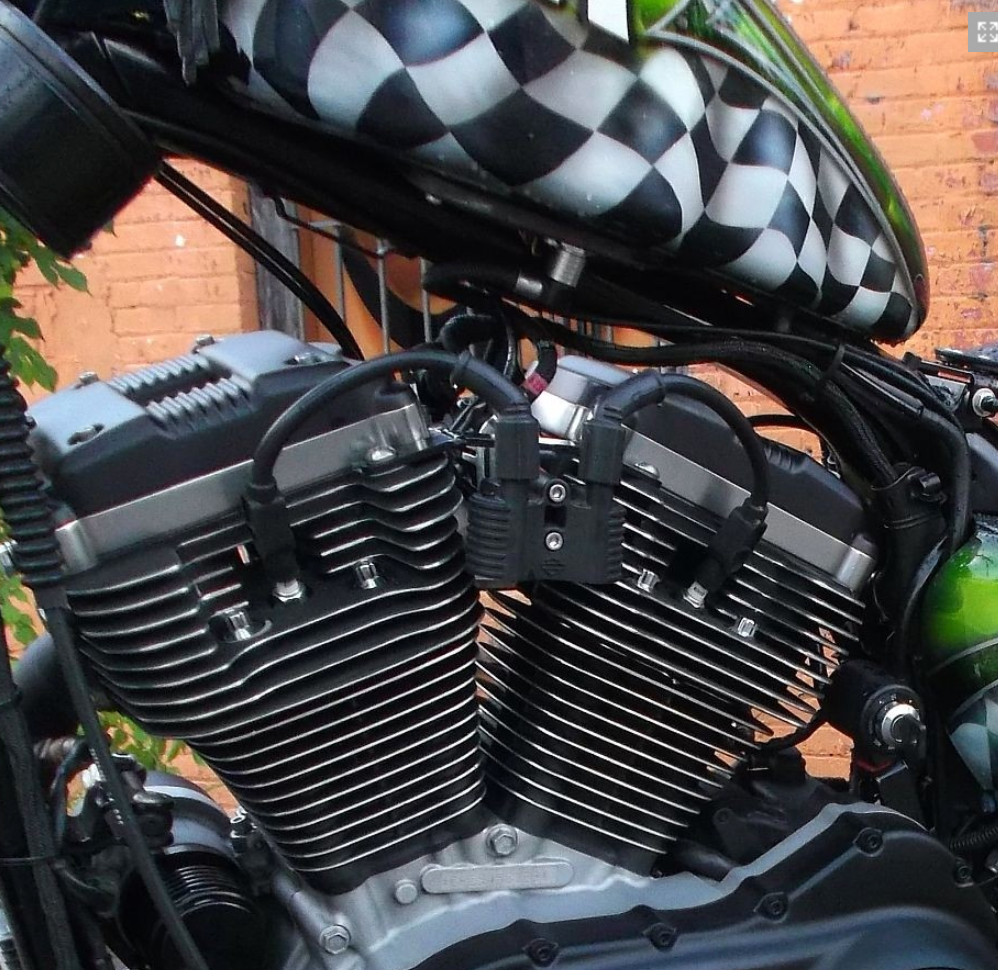 07 Up Xl Sportster Coil Relocation H Amp C Custom