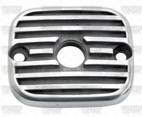 Lowbrow Customs Finned Master Cylinder Cover 1996-2009 Harley Davidson