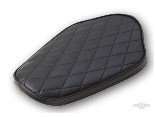 Sully's Sportster Solo Black DIAMOND STITCH Seat (Fits '82 - '03 Models)