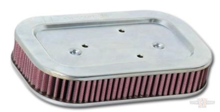 K&N  Replacement High Flow Stage 1 Air Filter XL 2004-2013