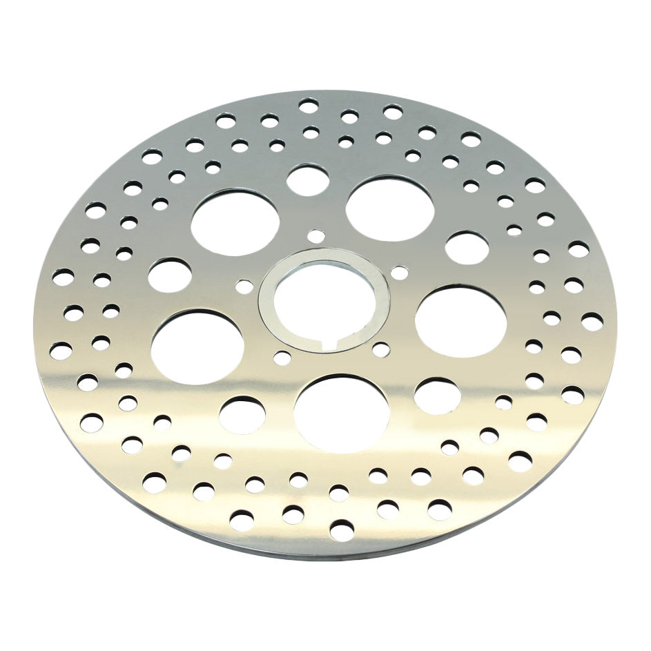 "11.5"" Front Brake Rotor Harley Softail, Dyna, & Sportster 84-13 Polished (fits Moto Iron Springer)"