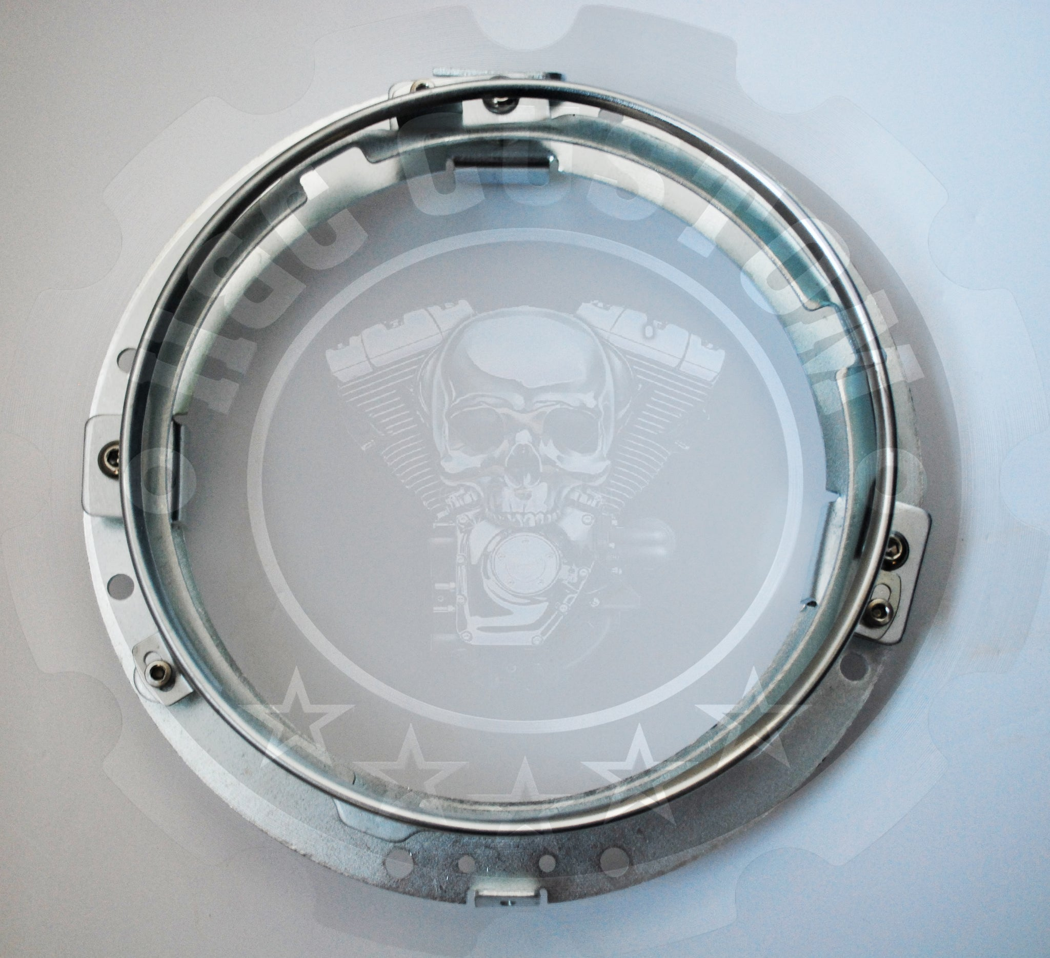 "7"" LED Headlight Mounting Ring For Harley Davidson Ultra Classic Electra Glide"