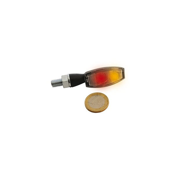 Highsider LED Taillight/Turn Signal BLAZE Black Smoked Lens