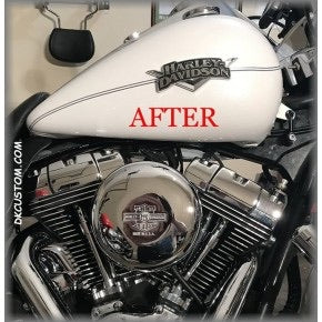 Deluxe option for tank lift kit Harley-Davidson Touring & Softail models