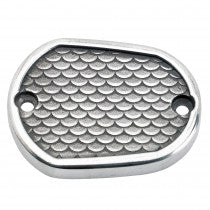 Lowbrow Customs Fish Scale Master Cylinder Cover 04+ XL Sportster