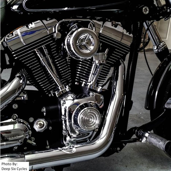 Louvered Air Cleaner for CV Carbs