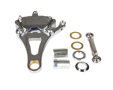 Springer Front End Brake Caliper Kit Chrome