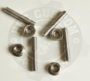 Stainless Exhaust Stud Set