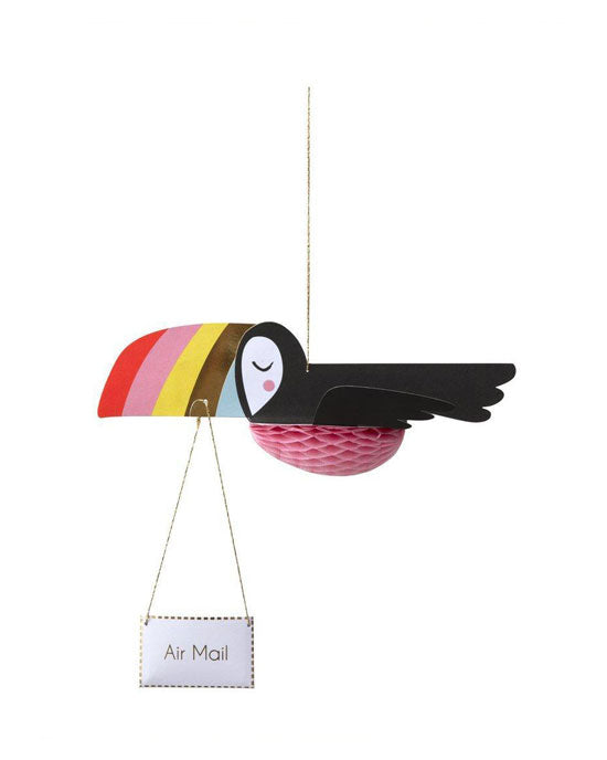 Flying Toucan Card - shopatstocks