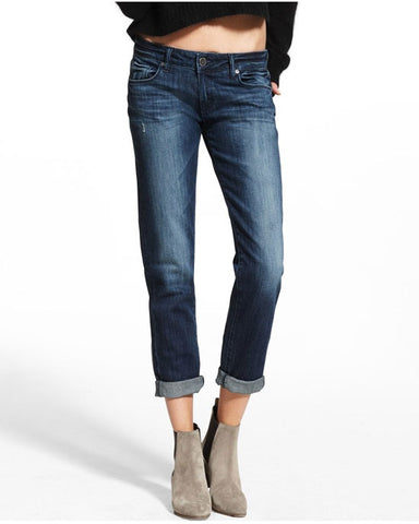 Riley Straight Boyfriend Jeans Nassau