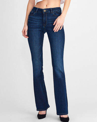 "Bridget High Rise Bootcut 33"" Peak"