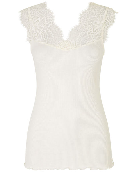 Bandon Lace Top Ivory