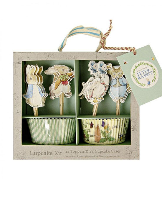 Peter Rabbit and Friends Cupcake Cases and Toppers