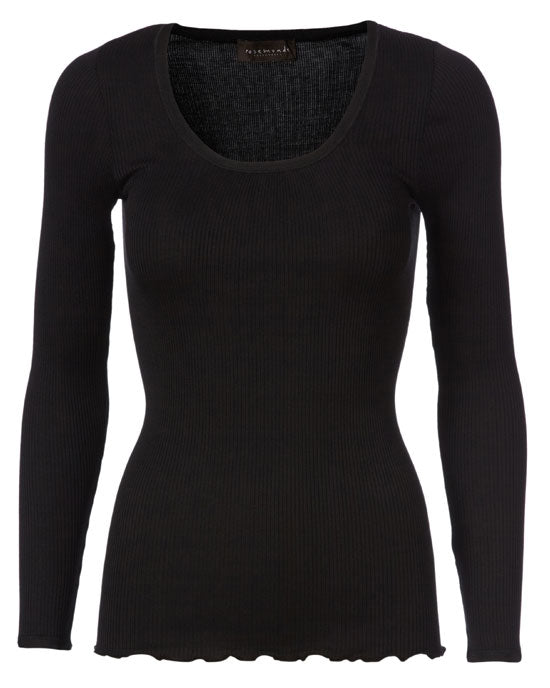 Blouse long sleeve Black - shopatstocks